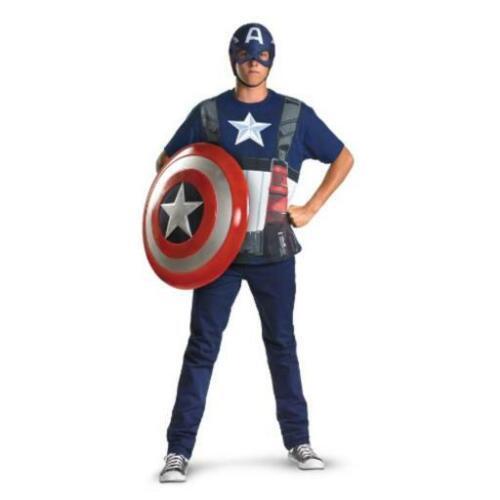 New Captain America Adult Costume XL//XXL
