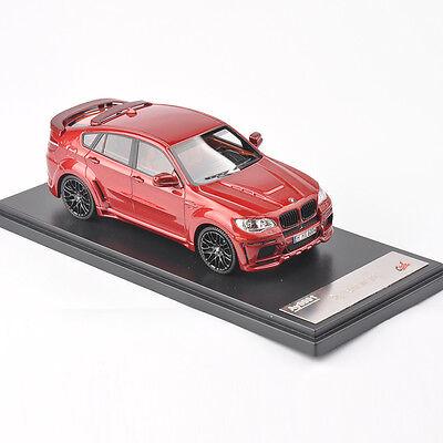 Premium X CCOOL 1:43 Diecast BMW X6 Red Car Vehicles Model Children Toys