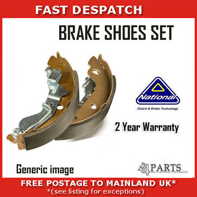 pack of two Blue Print ADJ134102 Brake Shoe Set