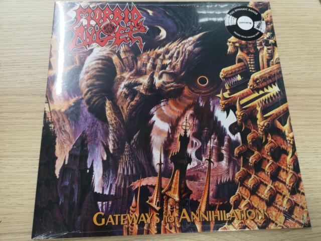 """MORBID ANGEL """"GATEWAYS TO ANNIHILATION"""" VINYL LP REISSUE NEW SEALED"""