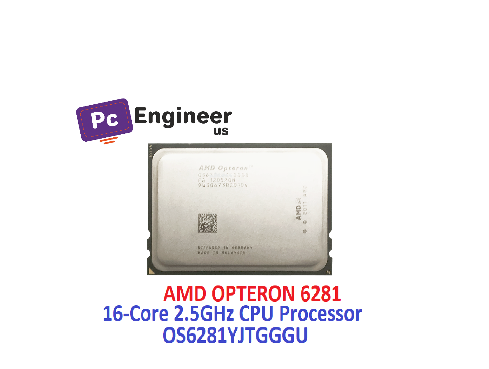 Amd Opteron 6281 Os6281yjtgggu 16 Core 2 5ghz Cpu Processor For Sale Online Ebay
