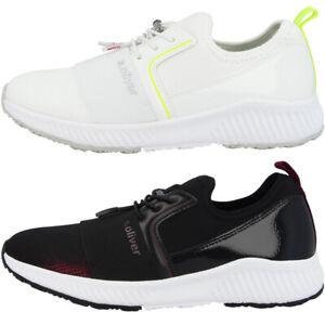 Details zu s.Oliver 5 23606 23 Women Damen Schuhe Freizeit Sneaker Schnürer Turnschuhe