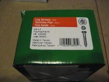Hex Lag Screw No 230089 Hillman Fasteners 3pk