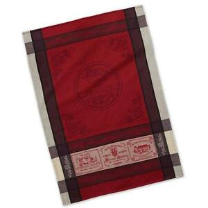 dish towel tea towel french inspired design vins de france rh ebay com