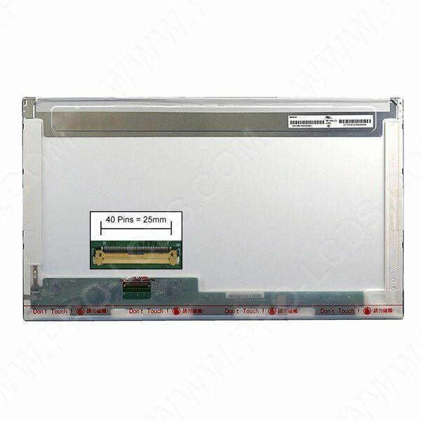Dalle led lcd screen for clevo w271efq 17.3 1920x1080