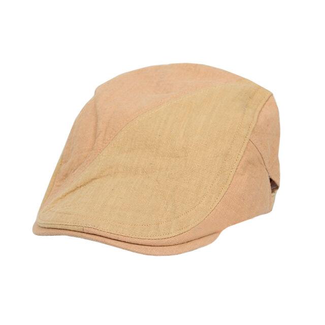 431ff92dc Men Golfing Beret Ivy Ascot Cabbie Cap Khaki Newsboy Cap Hat