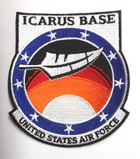 "Stargate Universe Icarus Base Logo 4"" Uniform Patch- FREE S&H  (SGPA-36)"