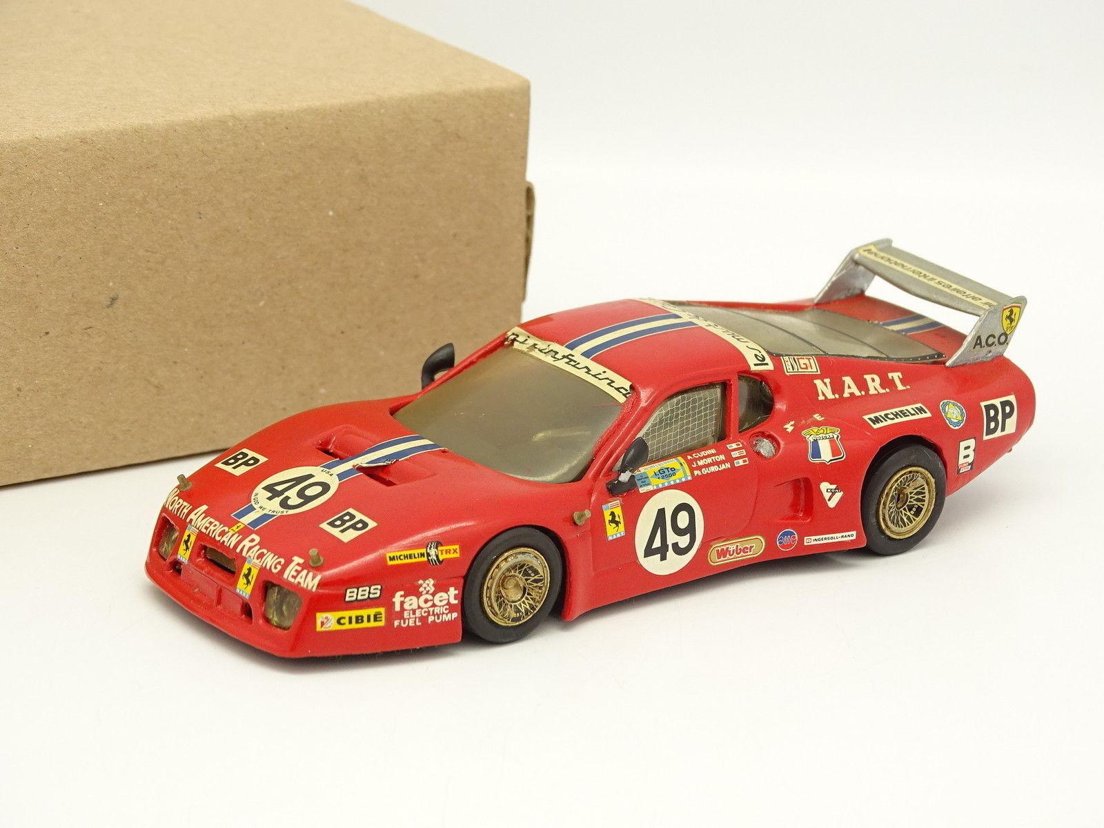 AMR Kit Monté Métal 1 43 - Ferrari 512 BB LM Le Mans 1981 N°49