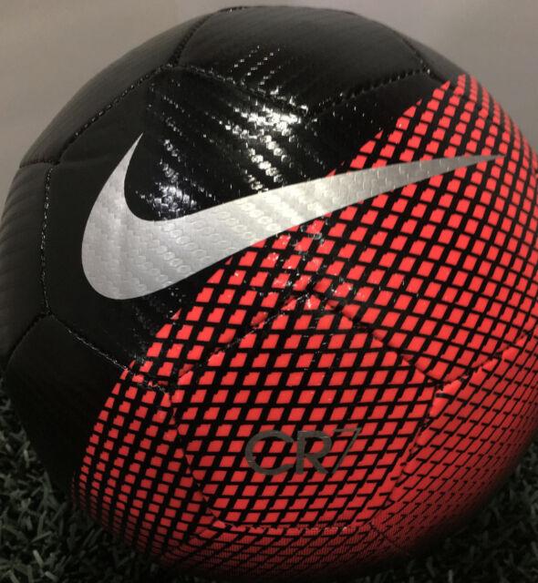 ebb4d817d New Nike Cristiano Ronaldo CR7 Prestige Soccer Ball Black/Red Size-4 SC3370  010