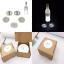 Bottle Light Glorifier Glow Wine Sticker LED For Coaster Cool WHITE 5Pcs PARTY