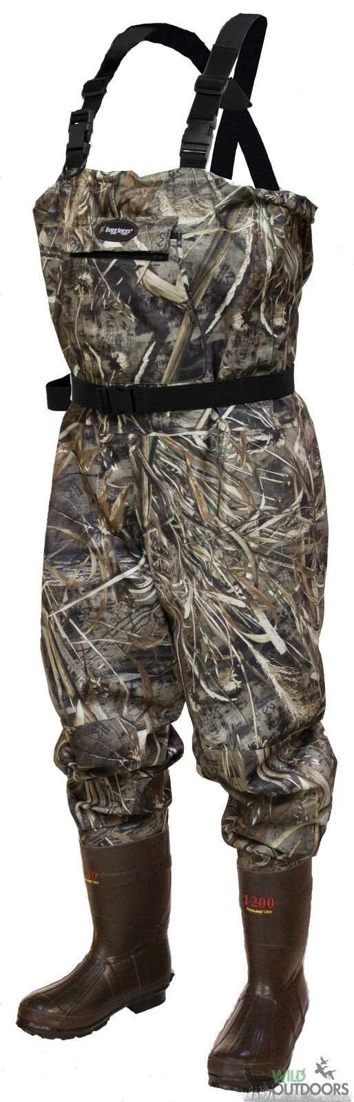 Frogg Toggs - HELLBENDER CAMO BREATHABLE WADERS
