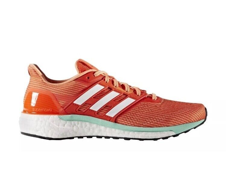 Adidas Supernova Women's Performance Running Shoes BB6039 Orange Size 11