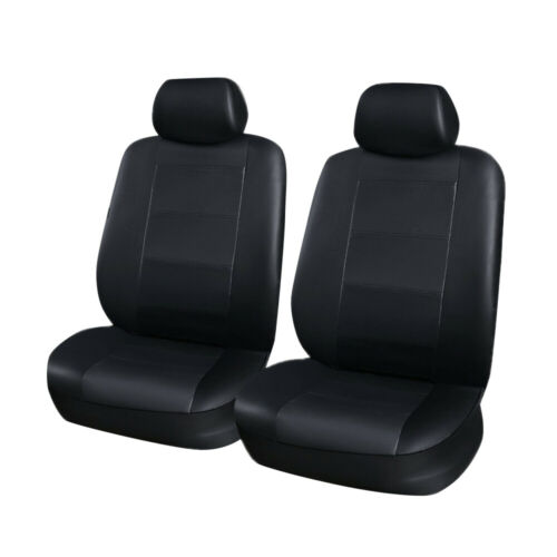 11pc Leather Car Seat Cover Universal Accessories for Honda Accord Civic CRV HRV