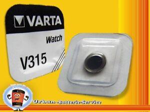 2x-Varta-V315-SR716SW-SR716-SR67-1-55v-Pilas-de-boton-Relojes-Baterias