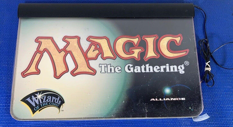 Magic the Gathering Gathering Gathering Sign light up Adgreenising  (not working) b934e8