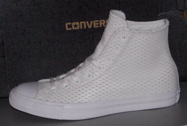 1f65ee8cd852 Converse Chuck Taylor All Star Hi High Top White white-gold Size 12 153115c