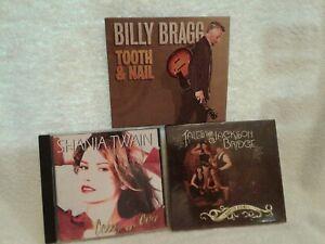 3-CDs-SHANIA-TWAIN-BILLY-BRAGG-HARPETH-RISING