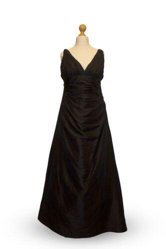Noir Femme Crinkle Froncé Cocktail Prom Croisière Fête Soirée Robe De Bal UK 8