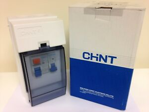 chint garage shed consumer unit ip65 rated fuse box 63a rcd 1x40a rh ebay ie replace garage fuse box garage fuse box location