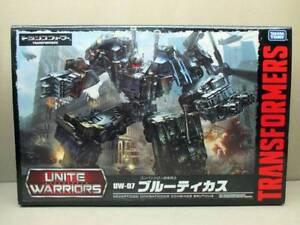 Takara-Tomy-Transformers-Unite-Warriors-UW07-Action-Figure-Bruticus-F-S-New