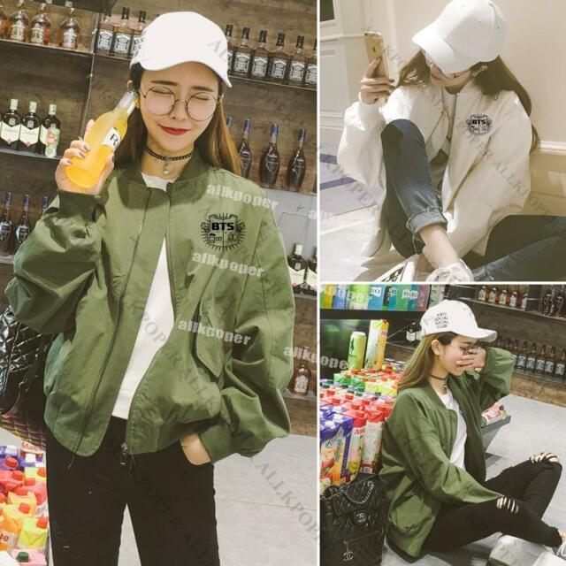 Kpop BTS WINGS Jacket Coat Bangtan Boys Baseball Uniform For Autumn Outwear