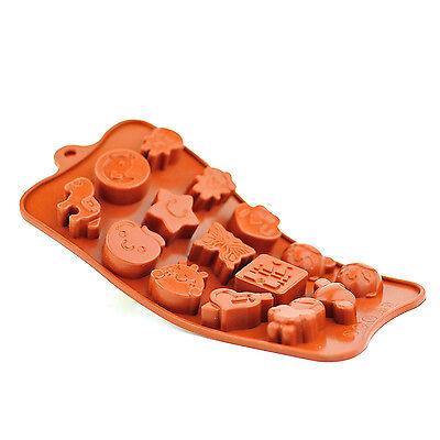 15 Hohlraum Süße Schokolade Teile Form Silikon Formen Backen Kuchen Jelly Eis Starke Verpackung