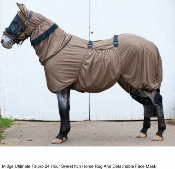 Fal Pro Midge Ultimate Full Body Fly Rug Extra Small To Fit 4'9