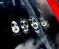 KISS - Car Window Sticker - Metal Rock Gene Simmons Sign Art Gift