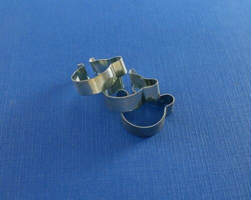 """Bicycle cable clips set of three 11//16/"""" NOS"""