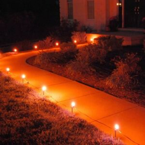 image is loading 10 orange light bulb halloween decor haunted house