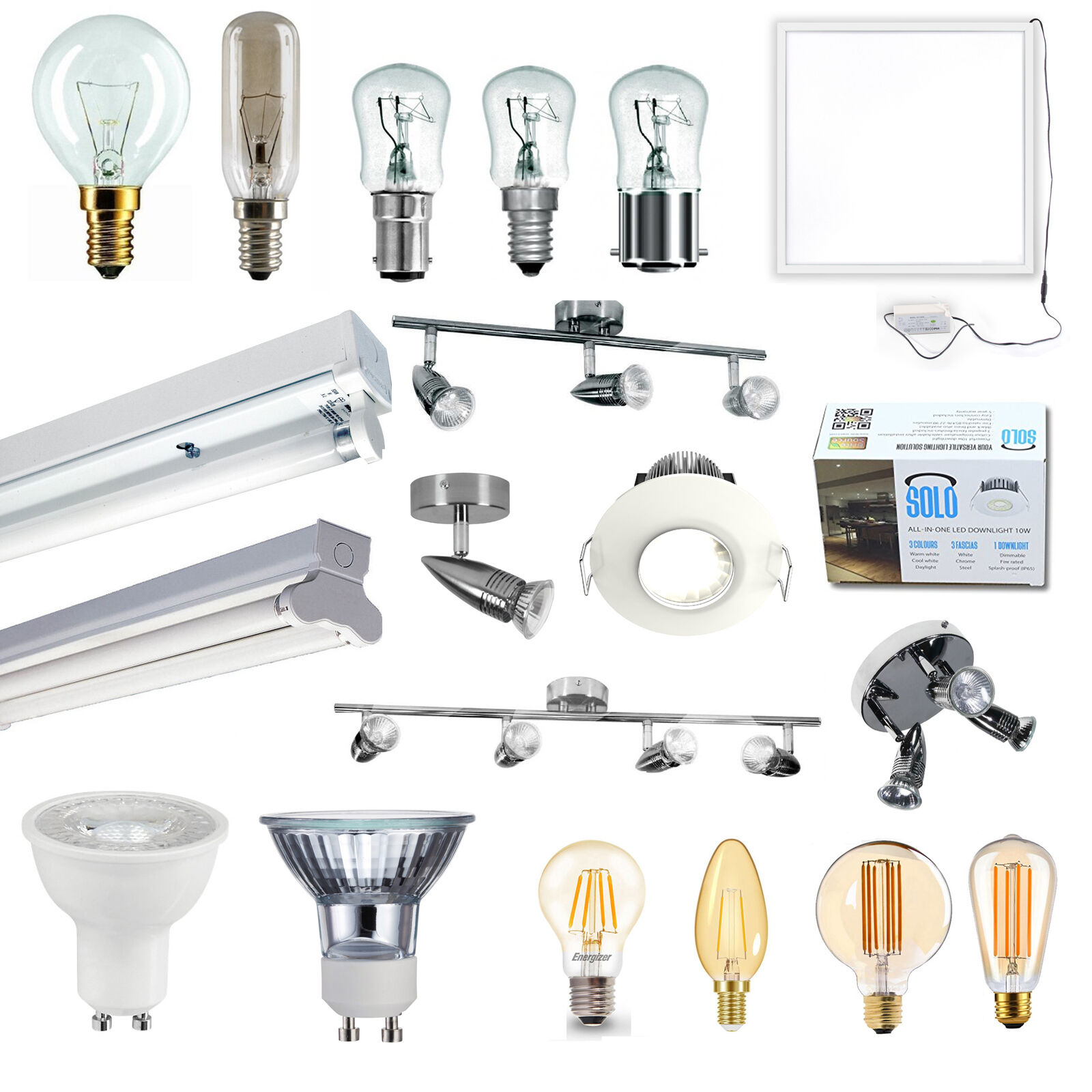 Kitchen Light Fittings Images: Kitchen Lighting LED / Halogen / Fluorescent Appliance Lamps Fittings Spotlights