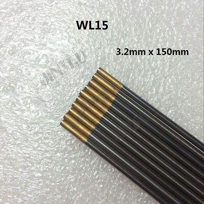 "Sky Blue WL20 Tungsten Electrode 3.2mm X 150mm 1//8/"" X 6/""  TIG Electrode 10PK"