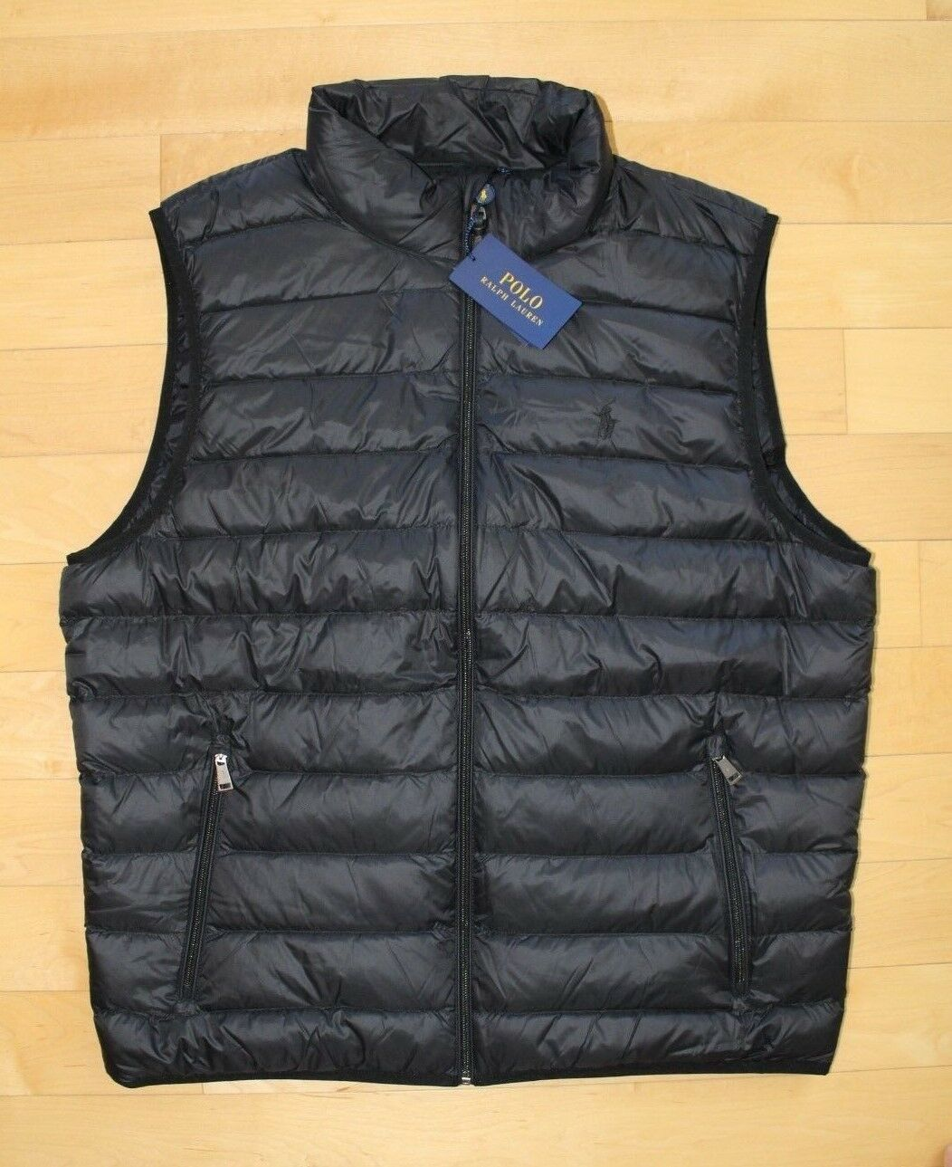 158130a94df5 Polo Ralph Lauren Mens Packable Puffer Down Vest 2xl Black With Tags ...
