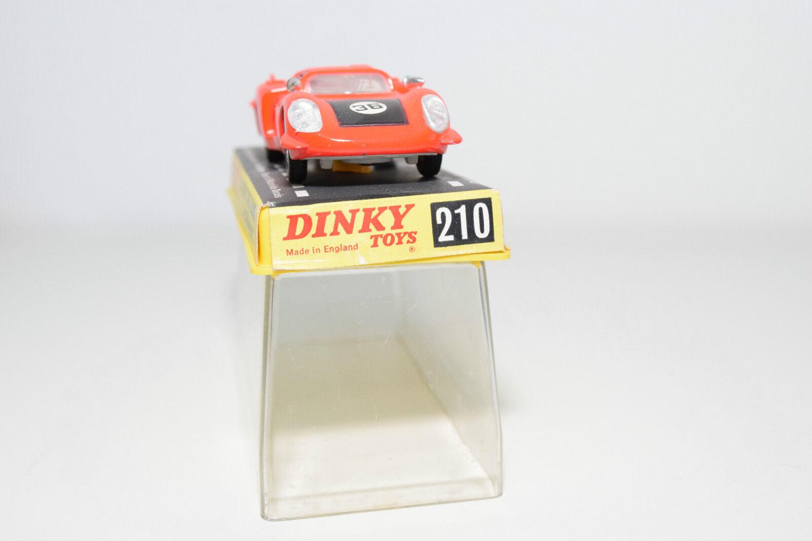 DINKY TOYS 210 ALFA ROMEO 33 TIPO LE MANS orange orange orange VERY NEAR MINT BOXED 5e4e06