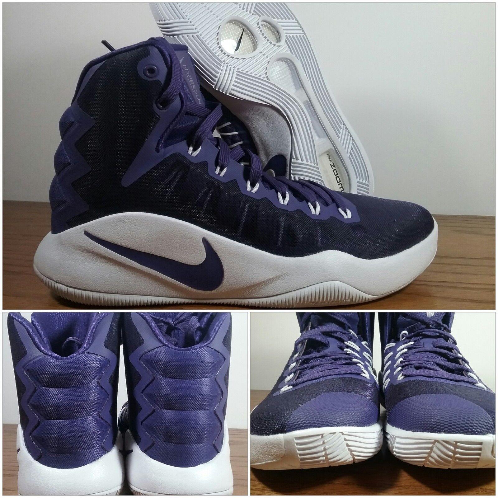 New Nike Hyperdunk 2016 Court Purple White Basketball Women's Sizes 856487-551