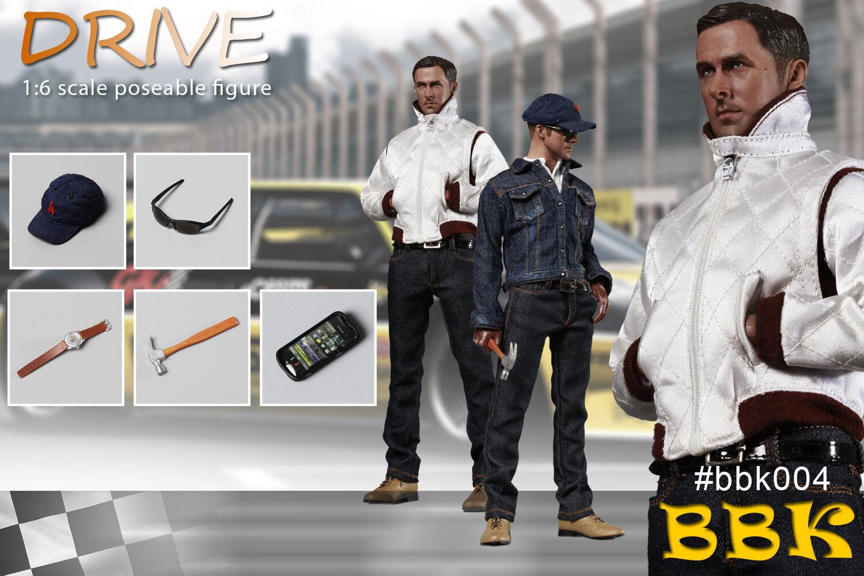 BBK Ryan Gosling Death Drive 1 6 Poseable Full Sets Male Action Figure  BBK004