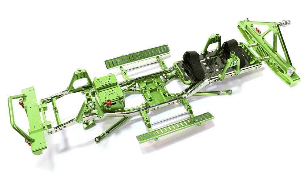 C26936Grün leiter frame - kit w   hop bis combo fr scx-10, boss & jeep