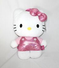 """15"""" Plush large Hello Kitty collectible backpack Pink Holographic rave edm edc"""