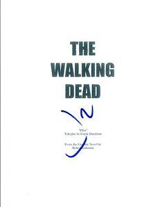 Jon-Bernthal-Signed-Autographed-THE-WALKING-DEAD-Pilot-Episode-Script-COA