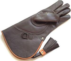 Falconry Glove Leather Bird Handling Glove. Falconry Glove | eBay