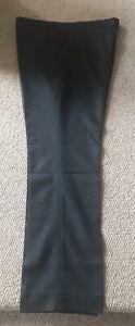 MARKS-amp-SPENCER-Mens-Dark-Grey-Teal-Trousers-40-034-Waist-33-Inch-Leg-9972-902