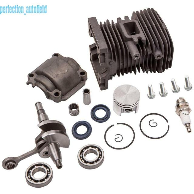 38mm Complete Engine Motor Cylinder Piston Crankshaft For Stihl MS170 MS180 018