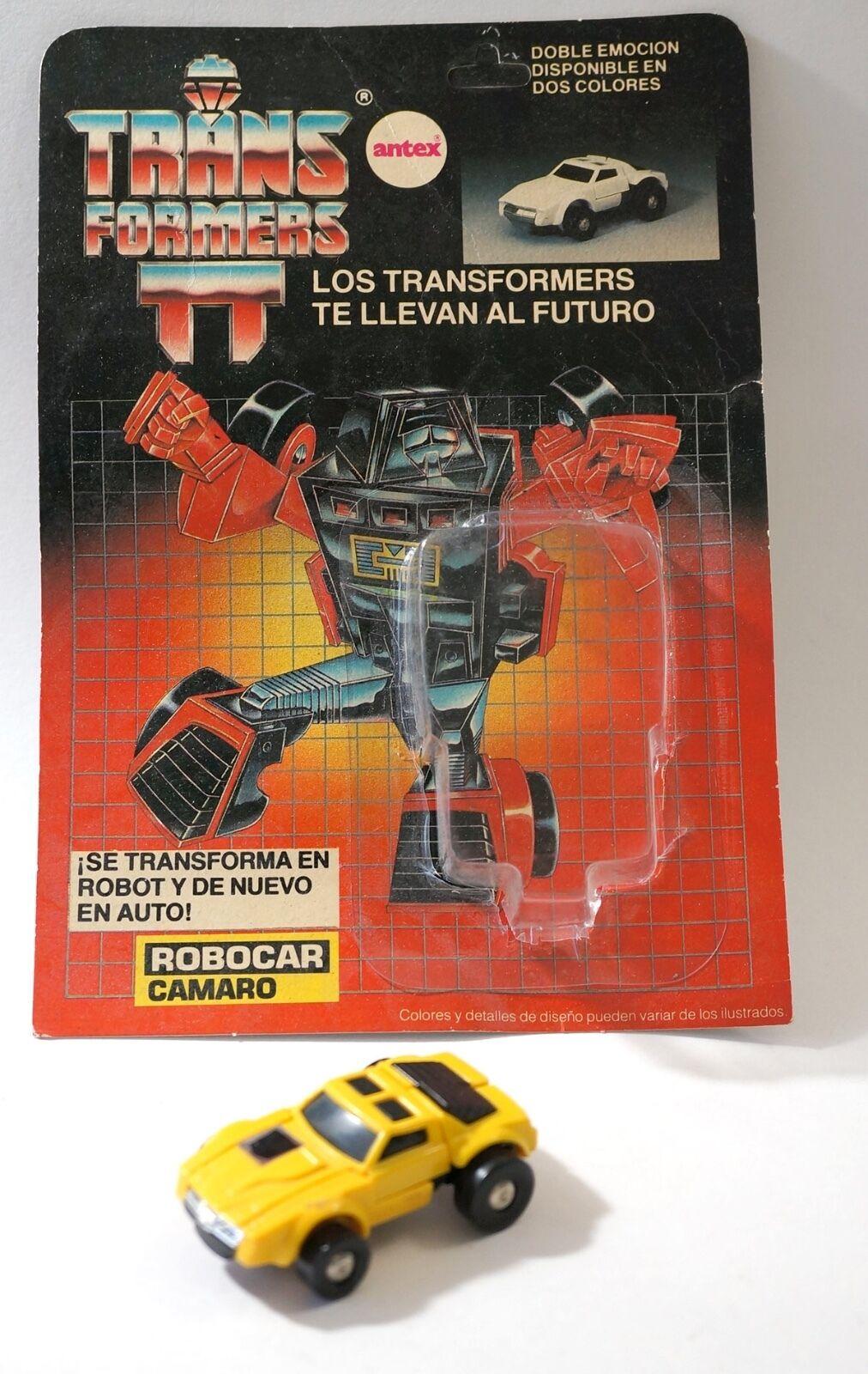 Transformers G1 Antex ROBOCAR Camaro Amarillo Windcharger Variante Argentina