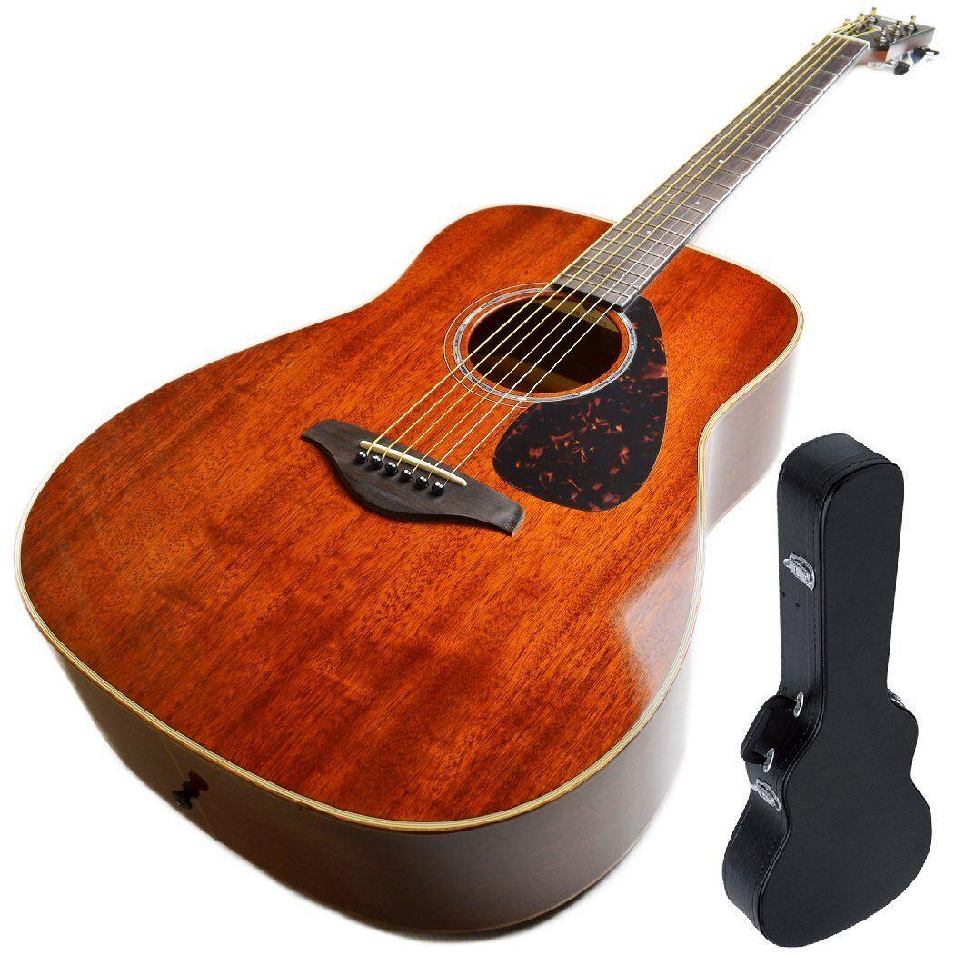 Guitarra Acústica Acústica Acústica Yamaha FG 850 NT natural Fork Talla cubierta rígida incluido 5927ab