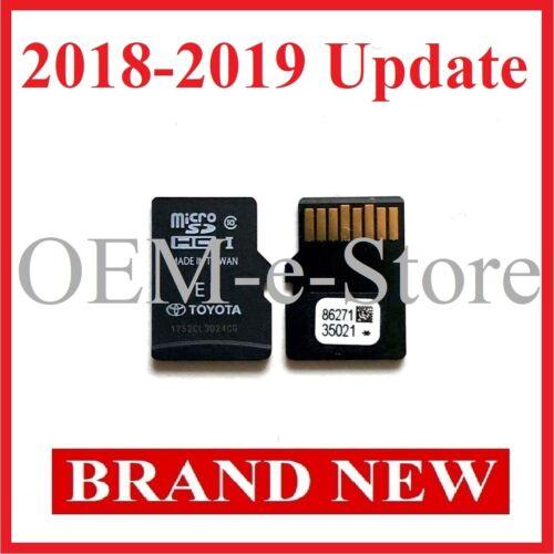 2014-2019 Toyota 4Runner RAV4 Prius C Navigation Micro SD Card Map Latest Update