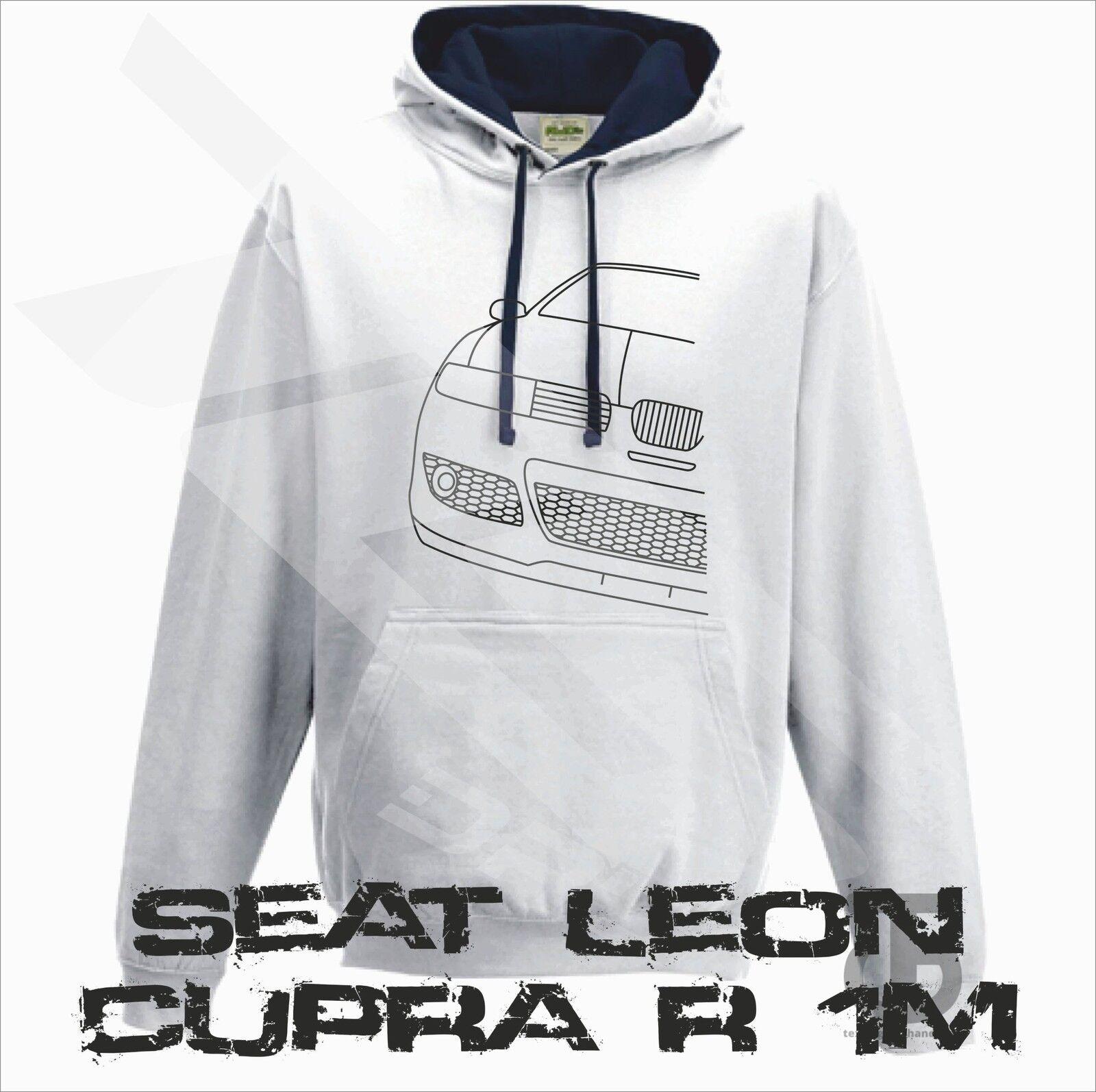 Seat Leon Cupra R 1M Hoodie Pullover