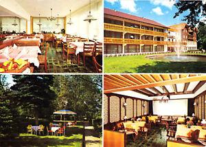 Vier Abb. Um 1975 Park-hotel Hentschelhof Erzklösterle Schwarzwald Ak