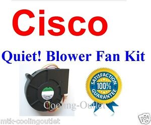 Cisco WS-C2960S-24PS-L WS-C2960S-24//48 120x32mm 4 wire Replacement Fan Blower