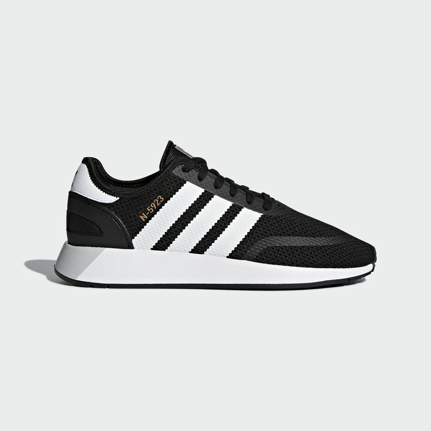 new concept acaa0 cafdc Adidas Men Originals N-5923 Iniki Runner shoes shoes shoes Black White  CQ2337 UK6.