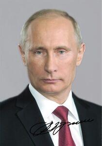 Vladimir poutine-repro-AUTOGRAPHE- 20x28 CM- großfoto- vladimir- repro signed-m- 20x28 cm- Großfoto- Vladimir- repro signedafficher le titre d`origine 0LLk17jj-09155950-882899167